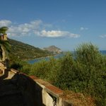 View on Cefalu Rock