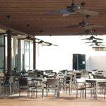 Außenbereich Restaurant