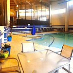 Enjoy a day at our indoor pool- open year round!