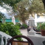 View of the terrace/garden