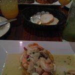Mofongo w/ shrimp