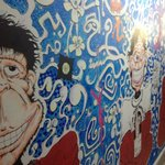 Best mural in mad monkey.... Great concept 4 travellers to get free accommodation!! :) :)