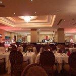 Hauptrestaurant mit Bueffet