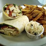 Chicken Club Wrap Platter