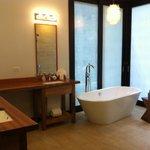 the wonderful bathrooms!