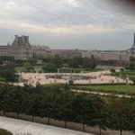 The Louvre and d'Orsay From Room 409