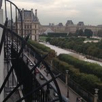 The Louvre and Tuileries Beyond Rue de Rivoli