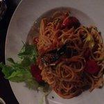 Sehr lecker ! Spaghetti Aglio e Olio und das Schokosuffle ein Traum !!!!