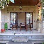 Our porch / terrace
