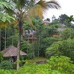 Cottage inside resort