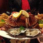 Sea food platter delicious