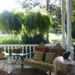 Gorgeous front porch!