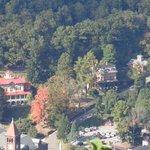 Asa Packer & Harry Packer Mansions as seen from Flagstaff
