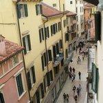 Day over Via Mazzini