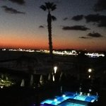 view of Paphos harbour from balcony