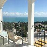 balcon privatif face à Carthage