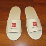 Complimentary slippers in room