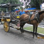An-dong = Horse carriage on Malioboro street