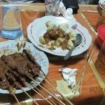 Chicken satay (Street Stalls)