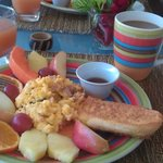 Un desayuno majestuoso!