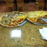 By the slice gourmet pizza