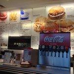 Inside Hero Burger