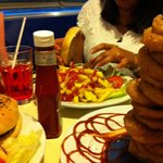 Zahra and the grace Kelly burger