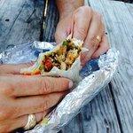 Crabmeat shrimp avocado burrito. Best thing I ever ate.