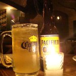 Una cervecita para el calor!!!!!