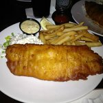 Fish and Chips: very good