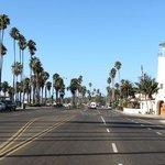rue longeant la mer