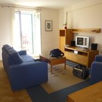 Room 23 Living room with Balcony