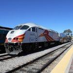 Rail Runner At Santa Fe Depot