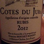 Nice wine from the Jura