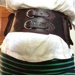 Cocobolo belt