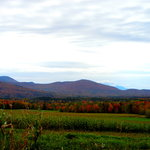 Elmore Mountain from Bliss Hill - Stowe Meadows