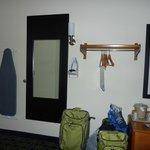Fairfield Inn Portland Maine Mall: No Closet in Room 320