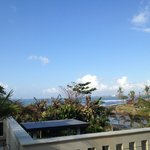 Ocean View from the terrace in front of our room!