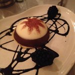 Constanza - white and dark chocolate mouse over orange liqueur soaked sponge cake