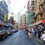 Chinatown - eine der vielen Stationen der Tour