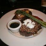 pecan crusted sirloin