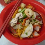 Kolo Mee which I find nice but not my partner...