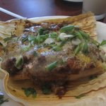Tamale - either ox tail or goat