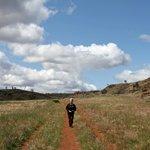 On the walk around the Fraser range - 6 km