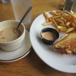 Chowder + Reuben Meal