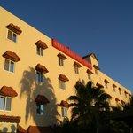 The Hotel facade