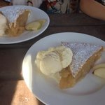 beautiful apple pie, best ive had in years, worth the trip