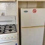 kitchen appliances in 2 bed villa