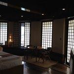 Premier Suite, the living area
