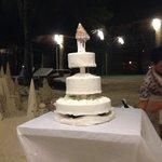 Wedding cake by Friday's